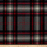 Ralph Lauren Home Hawthorne Melton Wool Plaid Hearthstone
