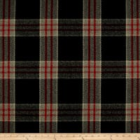 Ralph Lauren Home Refinery Melton Wool Plaid Cinder