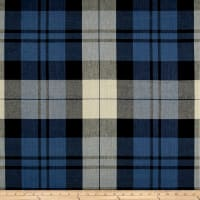 Ralph Lauren Home LCF65546F Summer Cottage Plaid Linen Indigo