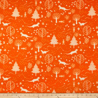 Paintbrush Studio Otter Romp Otters & Trees Orange
