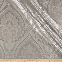 Europatex Imperial Damask Jacquard Silver