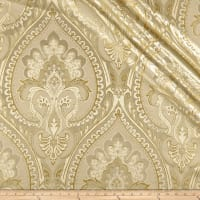 Europatex Imperial Damask Jacquard Metallic Cream