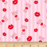 Henry Glass Love Struck Kiss Me Lips Pink