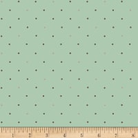 Henry Glass Flannel Bumble Garden Diamonds & Squares Aqua