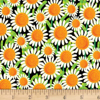 Henry Glass Busy Bees Sunflowers Black