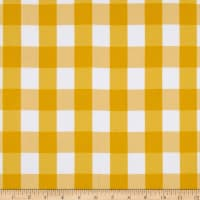 Picnic Gingham Yarn-Dyed Yellow/White