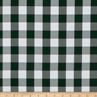 Picnic Gingham Hunter Green/White
