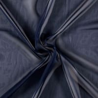 Two Tone Chiffon Navy
