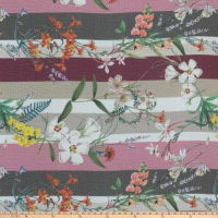 Preview Textiles Botanical Crepe Georgette Floral Multi