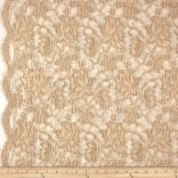 Chantilly Lace Double Boarder Champange