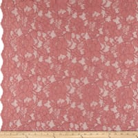 Heavy Corded Chantilly Lace Rose