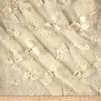 Applique Organza Ivory