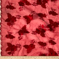 Applique Organza Cherry