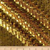 Fringe Sequins Gold