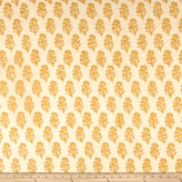 Ralph Lauren Home LCF68371F Allie Blockprint Duck Goldenrod