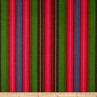Ralph Lauren Home Moche Stripe Yarn-Dyed Basketweave Cactus Fruit