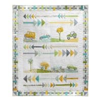 Terri Degenkolb Road Trippin' Going Places Quilt Kit Multi