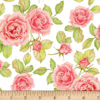 Shannon Christensen Cottage Joy Roses Pink
