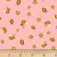 Shannon Christensen Cottage Joy Honey Bees Pink
