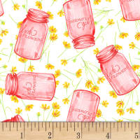 Shannon Christensen Cottage Joy Flower Jars Pink