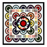 Mary Koval Colorwall Quilt Kit Full Spectrum Multi