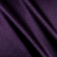 Heavy Crepe Back Satin Plum