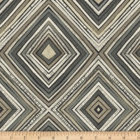 Carrie Bloomston Wonder Zig Zag Charcoal
