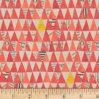 Carrie Bloomston Wonder Stacked Triangle Watermelon