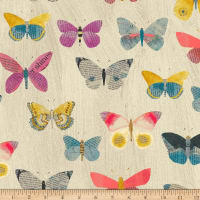 Carrie Bloomston Wonder Newspaper Butterflies Sand