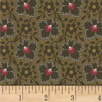 Jill Shaulis Kindred Spirits Gathering Floral Lace Brown