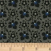 Jill Shaulis Kindred Spirits Gathering Floral Lace Black