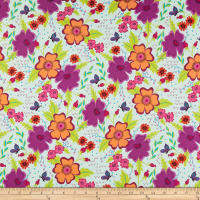 Windham Gypsy Gypsy Floral Mint Leaf