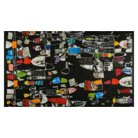 "Marcia Derse Art History:101 Timeline: Lecture Black 24"" Panel"