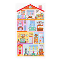 "Kaufman Penny's Dollhouse 24"" Panel Sweet"