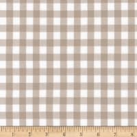 Kaufman Kitchen Window Wovens Gingham Doeskin