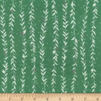 Kaufman Fleurie Flannel Vined Leaves Leaf