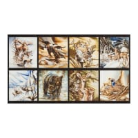 "Kaufman North American Wildlife 24"" Panel Nature"