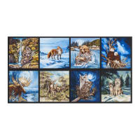 "Kaufman North American Wildlife 24""Panel Earth"