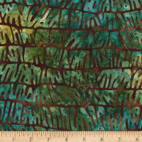 Kaufman Artisan Batiks: Nature's Textures 2 Teal/Earth