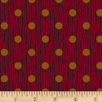 Judie Rothermel Scrappier Dots Rivers Of Dots Burgandy