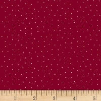 Judie Rothermel Scrappier Dots Pin Dots Red