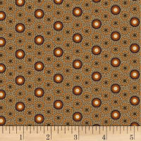 Judie Rothermel Scrappier Dots Calico Dot Brown