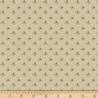Timeworn Tool Box Tape Measure Mini Wallpaper Stripe Taupe