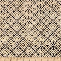 Kim Eichler-Messmer Imbue Batiks Diamond In Diamond Black/Cream