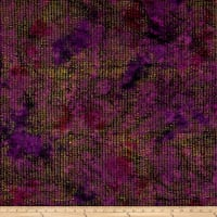 Kim Eichler-Messmer Imbue Batiks Textured Squiggle Purple