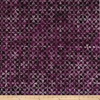 Kim Eichler-Messmer Imbue Batiks Diamond Flower Purple