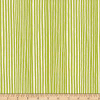 Kim Eichler-Messmer Imbue Batiks Narrow Stripe Green White