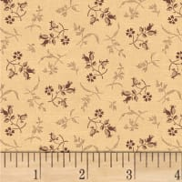 Pam Buda Primitive Threads Tossed Petals Tan