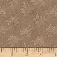 Pam Buda Primitive Threads Tossed Branches Taupe