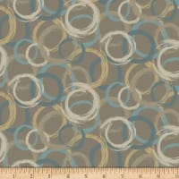 Laura Berringer In The Round Brush Stroke Circles Taupe